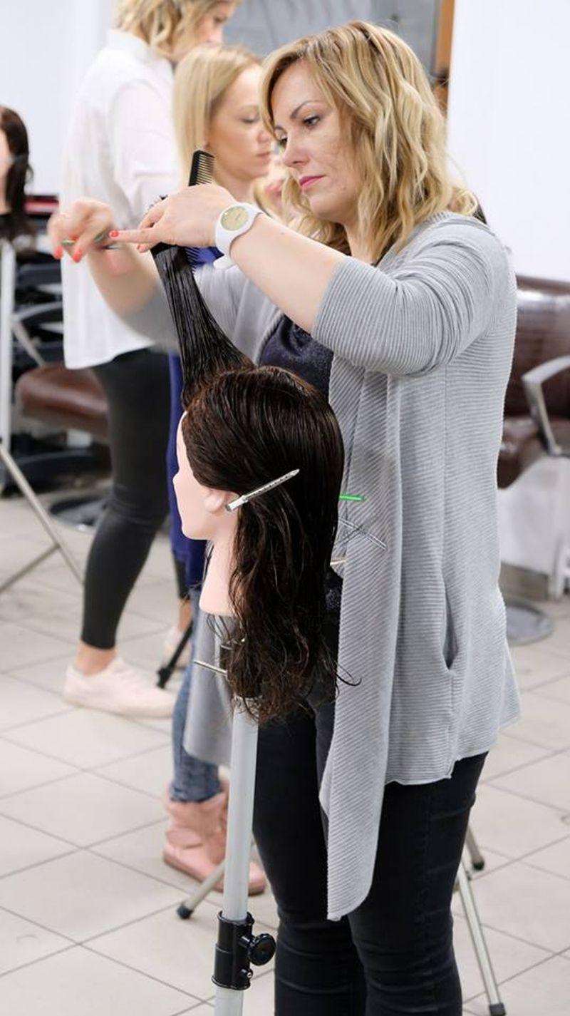 Szkolenia z najnowszych trendów w strzyżeniu damskim